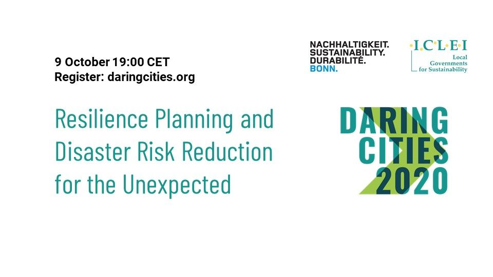 """Climate change: a threat for cultural heritage and opportunity for increasing urban resilience"". Join Bratislava at Daring Cities"