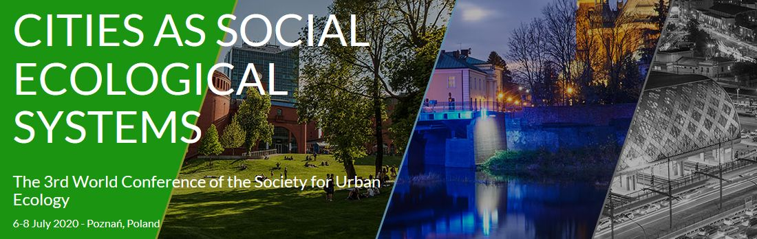 3rd World Conference of the Society for Urban Ecology