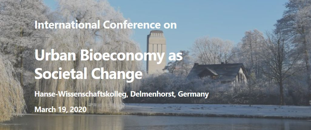 International Urban Bioeconomy as Societal Change Conference