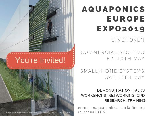 European Aquaponics Sector EXPO 2019