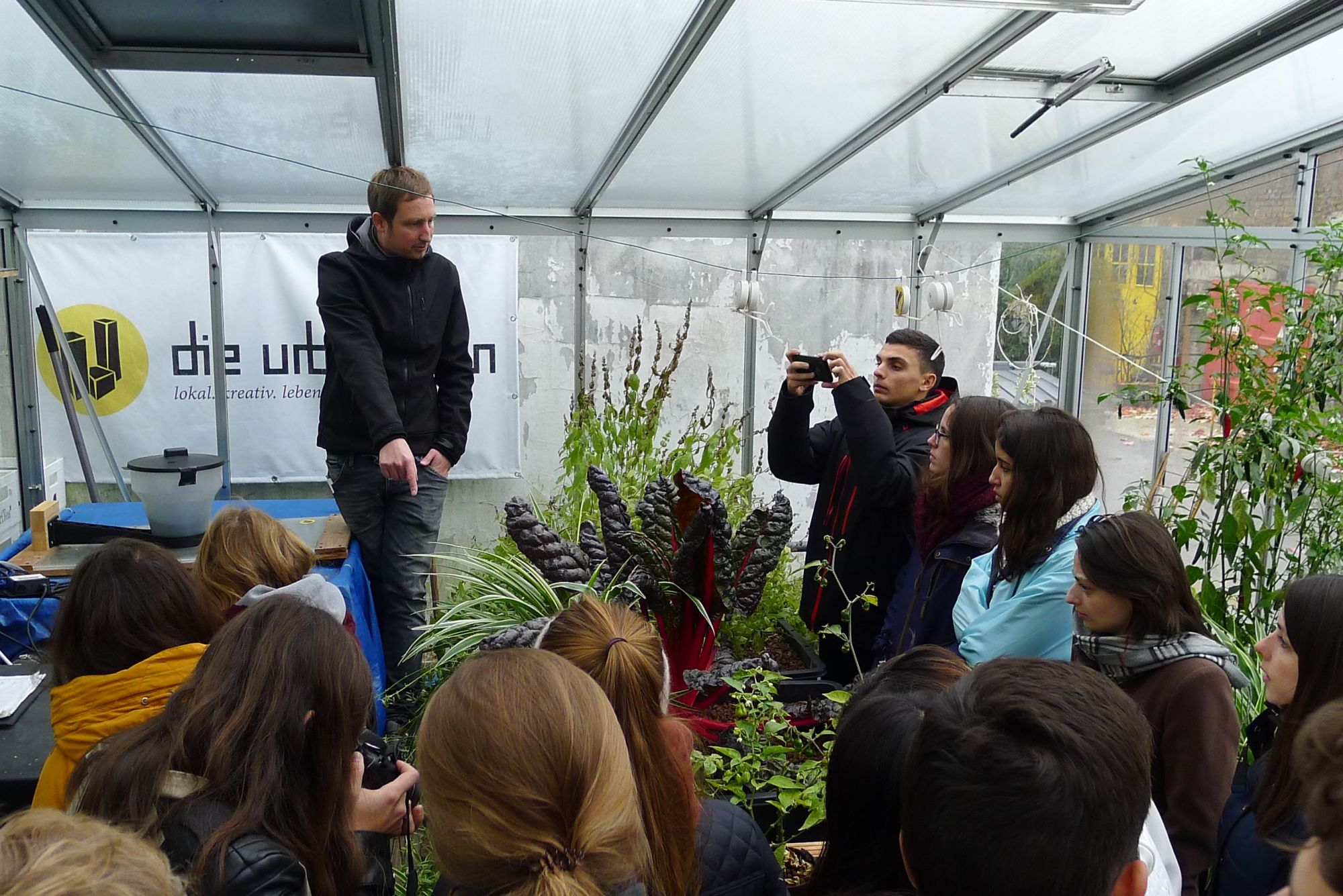 Students scout for ideal location for community aquaponics in Dortmund