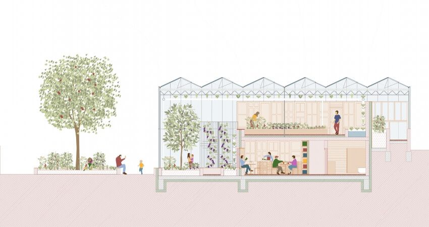 Architecture prize nomination for Dortmund's sustainable aquaponics centre